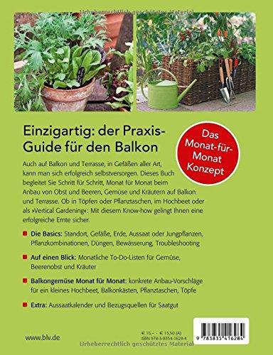 Hochbeet Balkon | Selbstversorger | Gemüse auf dem Balkon