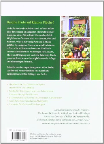 Handbuch Bio-Balkongarten. Gemüse, Obst und Kräuter auf kleiner Fläche ernten - 2