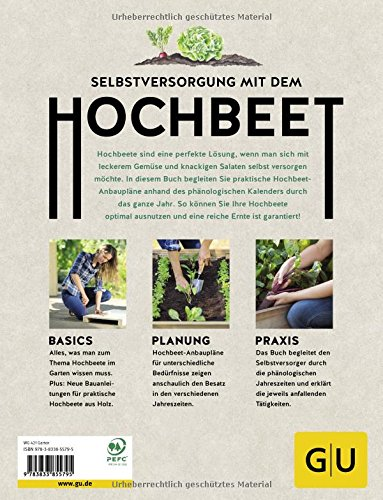 Hochbeet Buch Pflanzkalender Jahresplan Ratgeber Buchtipp