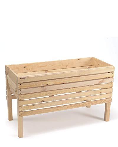 myGardenlust Hochbeet aus Holz - Kräuterbeet für Garten Terrasse Balkon - Pflanzkübel Pflanzkasten