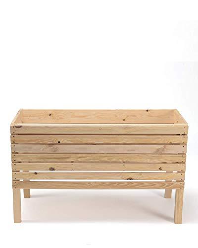 myGardenlust Hochbeet aus Holz – Kräuterbeet für Garten Terrasse Balkon – Pflanzkübel Pflanzkasten - 6